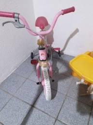 Bicicleta infantil menina - Rosa ( Princesa)