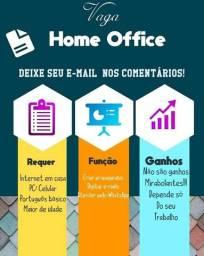 Home office trabalho em casa
