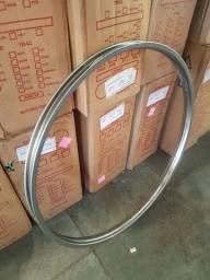 Aro de Ferro Bicicleta Antiga Barra Circular Caloi ou Monark