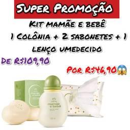 Super promoção kit mamãe e bebê