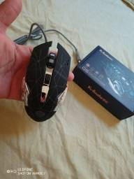 Mouse Novo silencioso rgb (Frete Gratis)