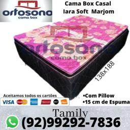 Cama fofinha D28 com Pillow, Entrega Grátis
