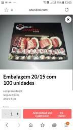 Título do anúncio: 100 embalagem 20/15 cm *