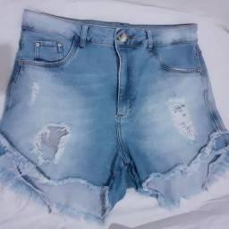 5 shorts por 50 reais