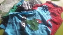 5 camisa e um shortinho