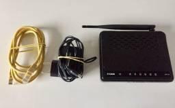 Título do anúncio: Roteador D-link Dir-610 (Completo Com Cabo Ethernet)