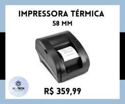 Título do anúncio: Impressora Térmica 58 mm