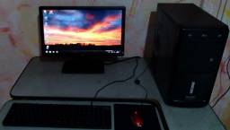 Título do anúncio:    Pc Completo, Core 2 Duo, 4Gb Ram, Hd 320GB, Monitor 19