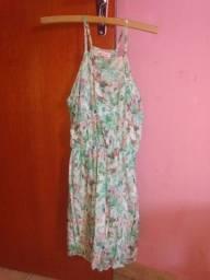 Vestido floral verde PP marca Niina Secrets