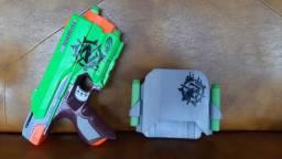 Nerf sidestrike com 6 dardos
