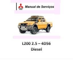 Título do anúncio: Manual De Serviços - L200 2.5 4d56 Diesel - Pdf