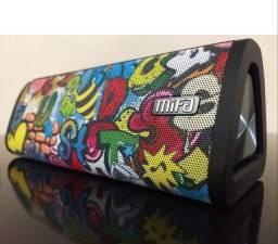 Título do anúncio: Caixa de Som Bluetooth 5.0 MIFA A10+ Black-Graffiti 20w Ipx7