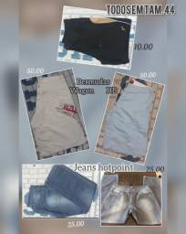Calças jeans e shorts masculinos