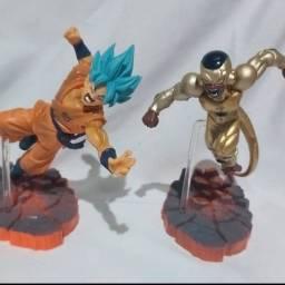 Action figure dragonball goku e freeza