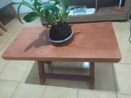 Título do anúncio: Mesa de centro em madeira maciça