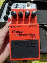 Título do anúncio: Pedal Nig As1 Amp Simulator e<br><br>Pedal de Distorcao Boss DS 1 para Guitarra
