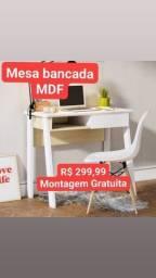 Título do anúncio: Bancada em MDF novas montagem Gratuita
