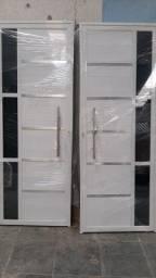 Título do anúncio: Porra Lambri em alumínio branco c/ puxador