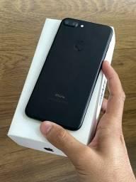 iPhone 7 Plus 32GB Preto Matte - Bateria nova! Até 12x no cartão! Semi novo 32 GB