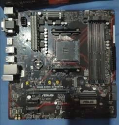 Título do anúncio: Placa Mãe Asus Prime B450m Gaming/BR