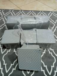 Título do anúncio: Caixa de passagem de aluminio blindada (15×15)
