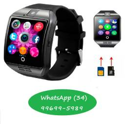 Relo?gio Smart Watch Q18 Inteligente Celular Android