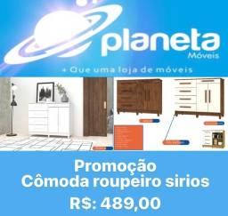 Título do anúncio: CÔMODA ROUPEIRO SIRIOS / AQUÁRIOS AQUÁRIOS AQUÁRIOS