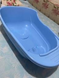Banheira para bebê azul 24L