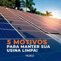 Título do anúncio: Limpeza de energia solar