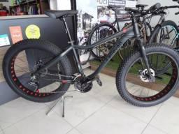 Título do anúncio: Bicicleta 26 Elleven Aliens Fat Bike Alumínio 21V Shimano Freio à Disco