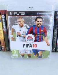 Título do anúncio: Jogo de PS 3 FIFA 10