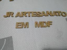 Letra em mdf