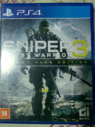 Moleza Jogo PS4 Sniper Elite 3 Ghost Warrior