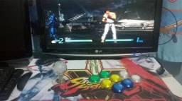 Controle arcade para pc, xbox, ps3 custom
