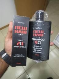Produto para cabelos e barbas