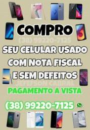 Compro celulares usados com nota fiscal