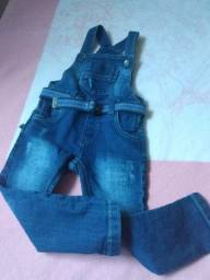Macacão Jeans infantil 01