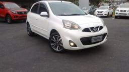 NISSAN MARCH SL 1.6 16V CVT FLEXSTART Branco 2018/2019 - 2018