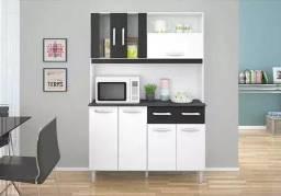 Kit de cozinha compacta 7 portas e 2 gavetas Hellen I627