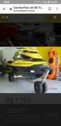 Carreta encalhe, jet, bote, barco, caiaque