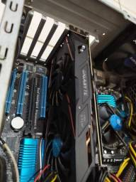 PC GAMER Core i7 2600k 8GB Corsair Vengeance SSD 128GB Video RX 570 Anapolis Goiânia