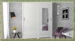 Quinta Preços Clássicos - Roupeiro 2 Portas - 6-6 - Espelho
