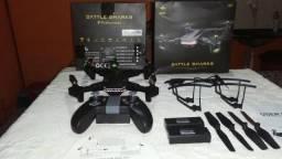 R$ 500,00 Drone visuo xs809s novinho na caixa( VERSÃO ATUALIZADA)