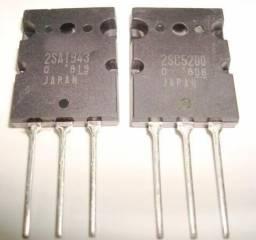 2sc5200 e 2sa1943 Toshiba 10 Pares
