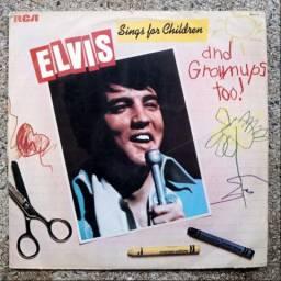 Elvis Presley - 'Sings for children' vinil LP