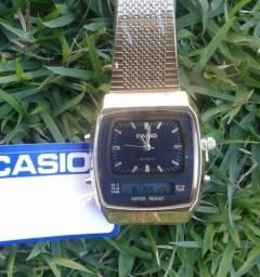 eba49c4ad28 Relógio Casio Vintage Analógico e Digital