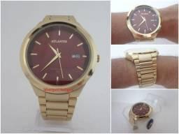 c3053f093f9 Relógio Atlantis Masculino G3247