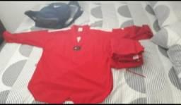 Dobok Vermelho Adidas