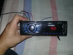 Vendo ou troco radio para carro Mondial