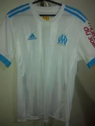 Camisa Olympique de Marseille autografada pelo Thauvin